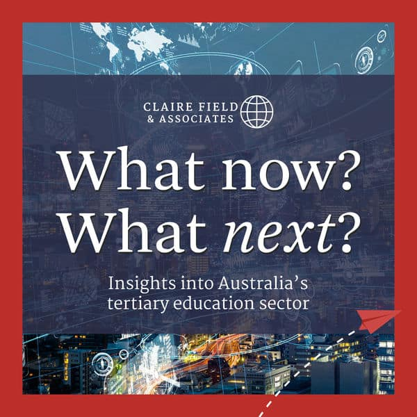 IHEA's Dr Sally Burt discusses the Productivity Commission's report on the new National Skills Agreement on Claire Field's What Now? What Next? Podcast